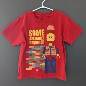 Lego red short sleeved t-shirt